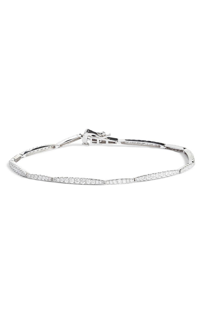 BONY LEVY Aviva Diamond Bracelet, Main, color, WHITE GOLD/ DIAMOND