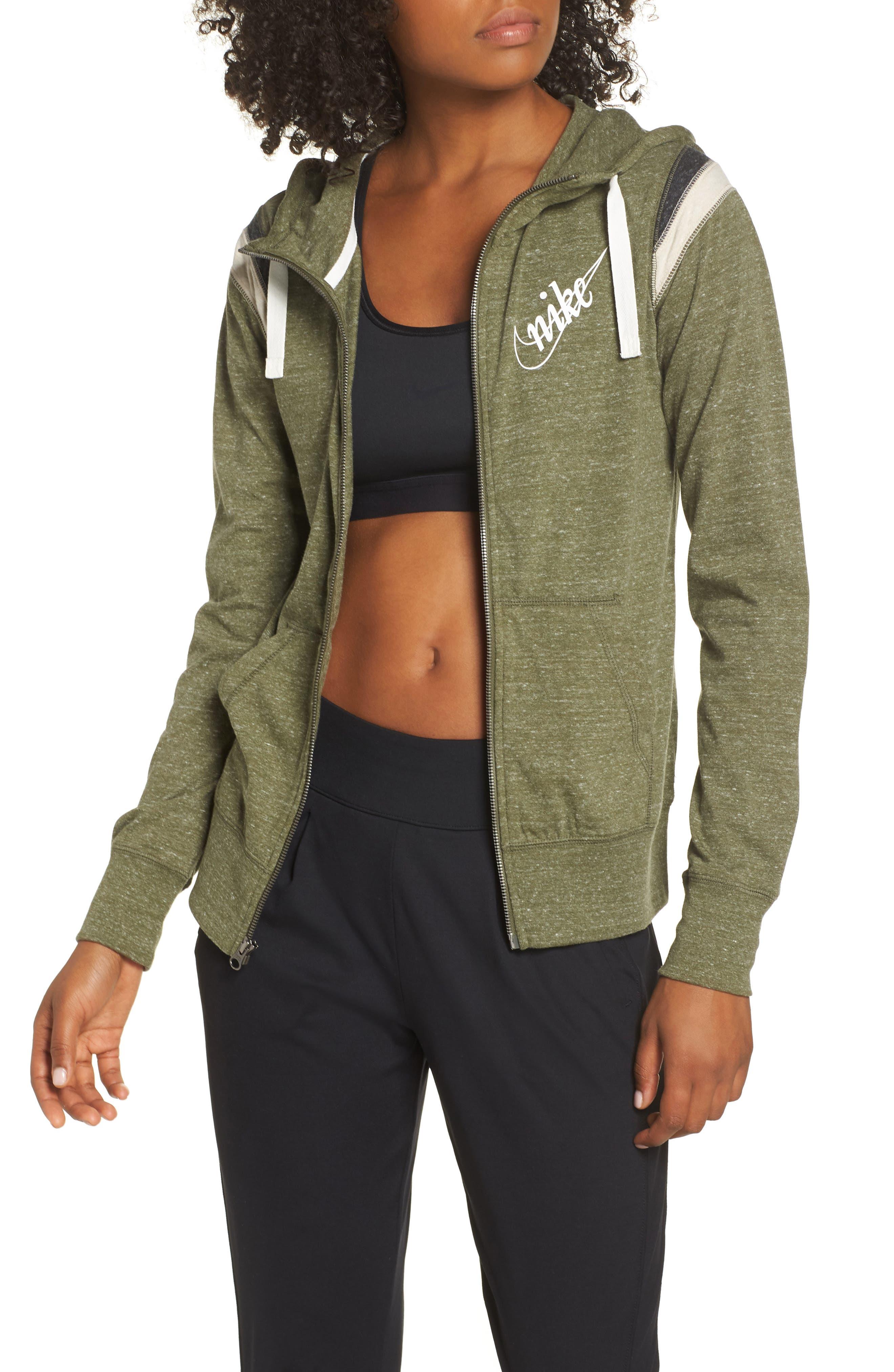 ,                             Sportswear Gym Vintage Zip Hoodie,                             Main thumbnail 21, color,                             395