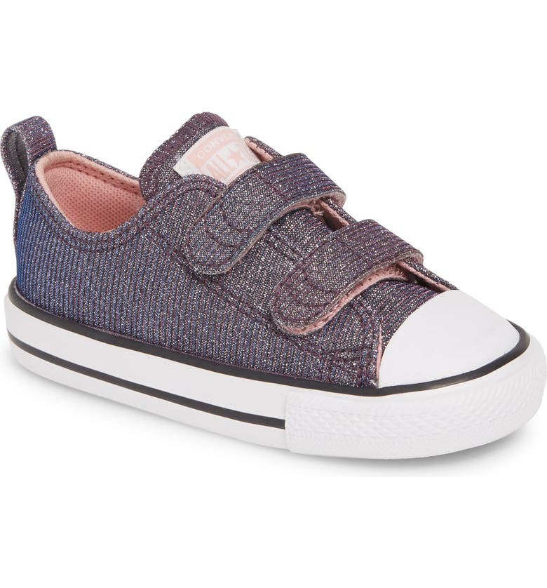 CONVERSE Chuck Taylor<sup>®</sup> All Star<sup>®</sup> Space Star 2V Sparkle Sneaker, Main, color, GREY