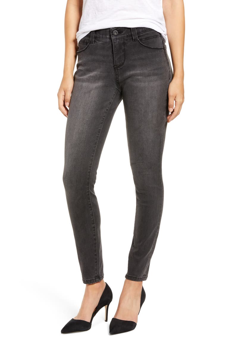 JAG JEANS Cecilia Skinny Jeans, Main, color, COAL WASH