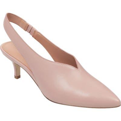 Sigerson Morrison Pointy Toe Slingback Pump - Pink