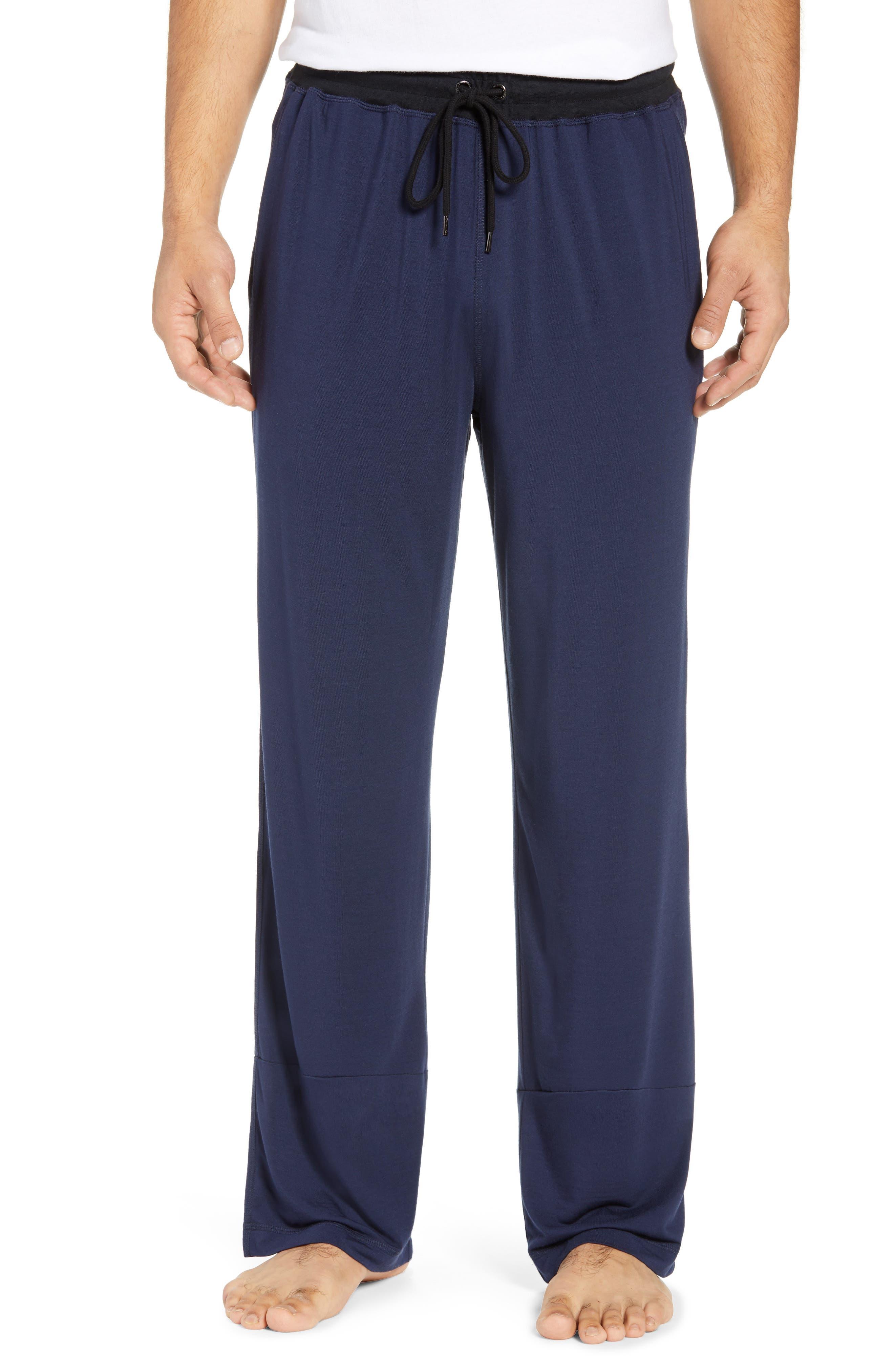 Daniel Buchler Modal Blend Pajama Pants, Blue