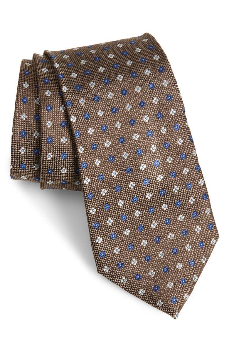 NORDSTROM MEN'S SHOP Siam Neat Silk Tie, Main, color, 260