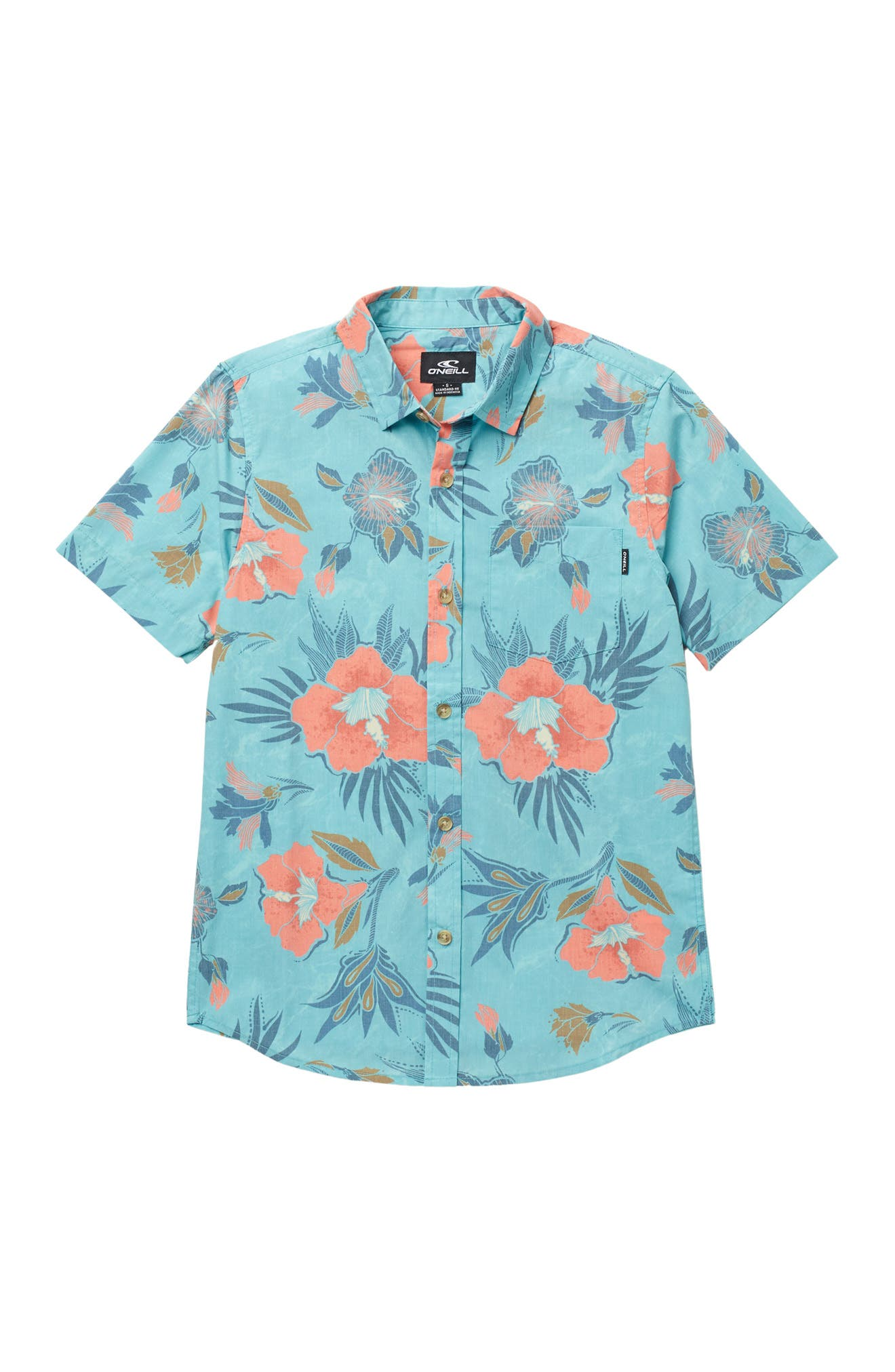 Image of O'Neill Foundation Floral Printed Shirt