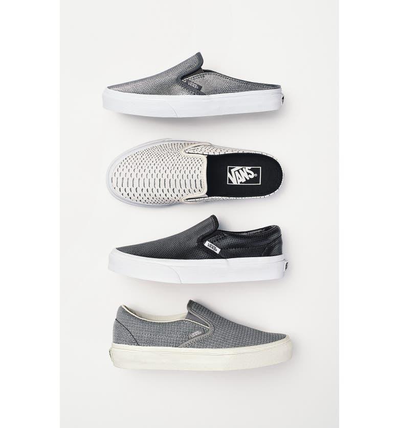 VANS 'Classic' Slip-On Sneaker Mule, Main, color, 140