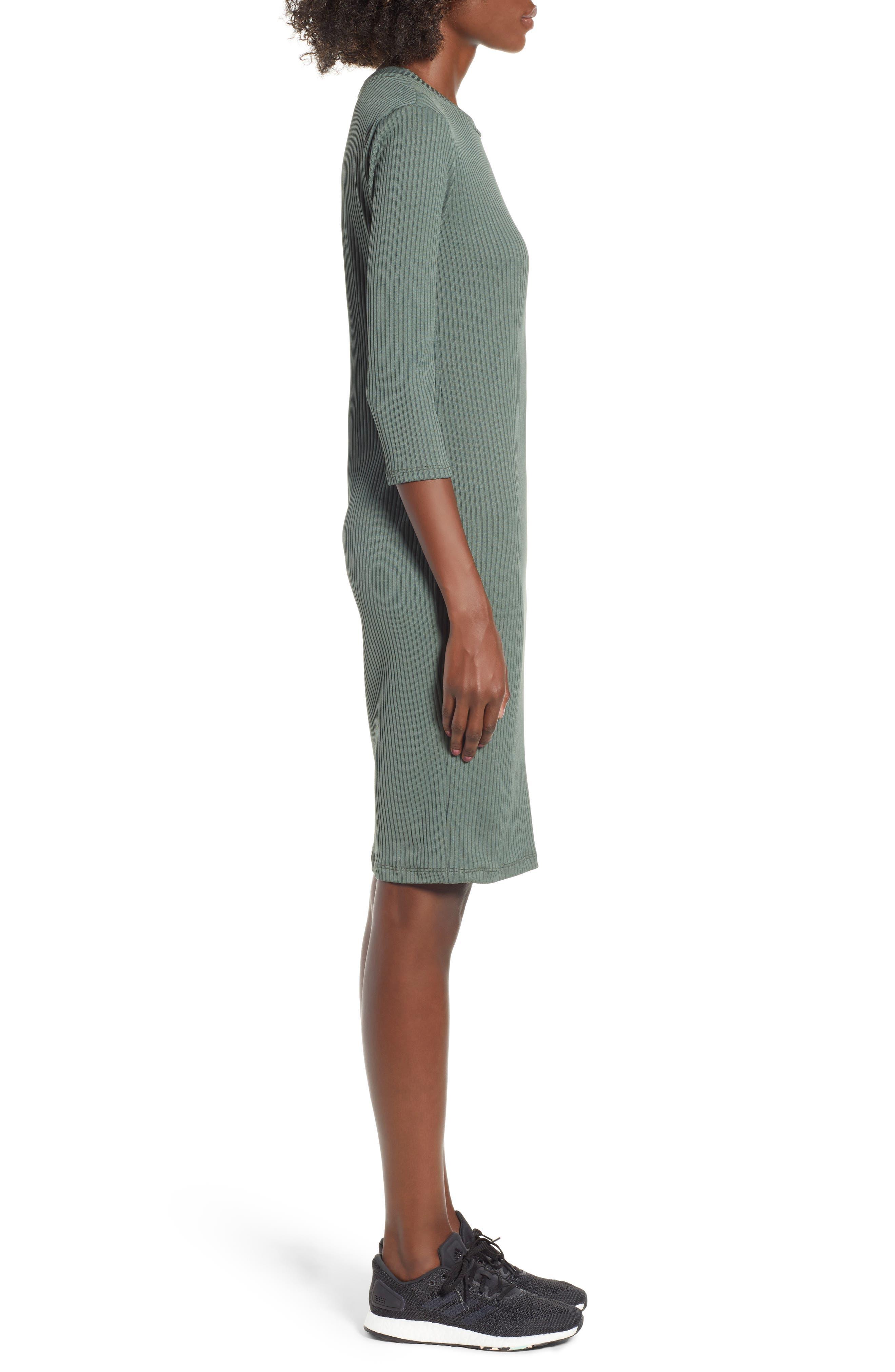 ,                             Ribbed Body-Con Minidress,                             Alternate thumbnail 8, color,                             300