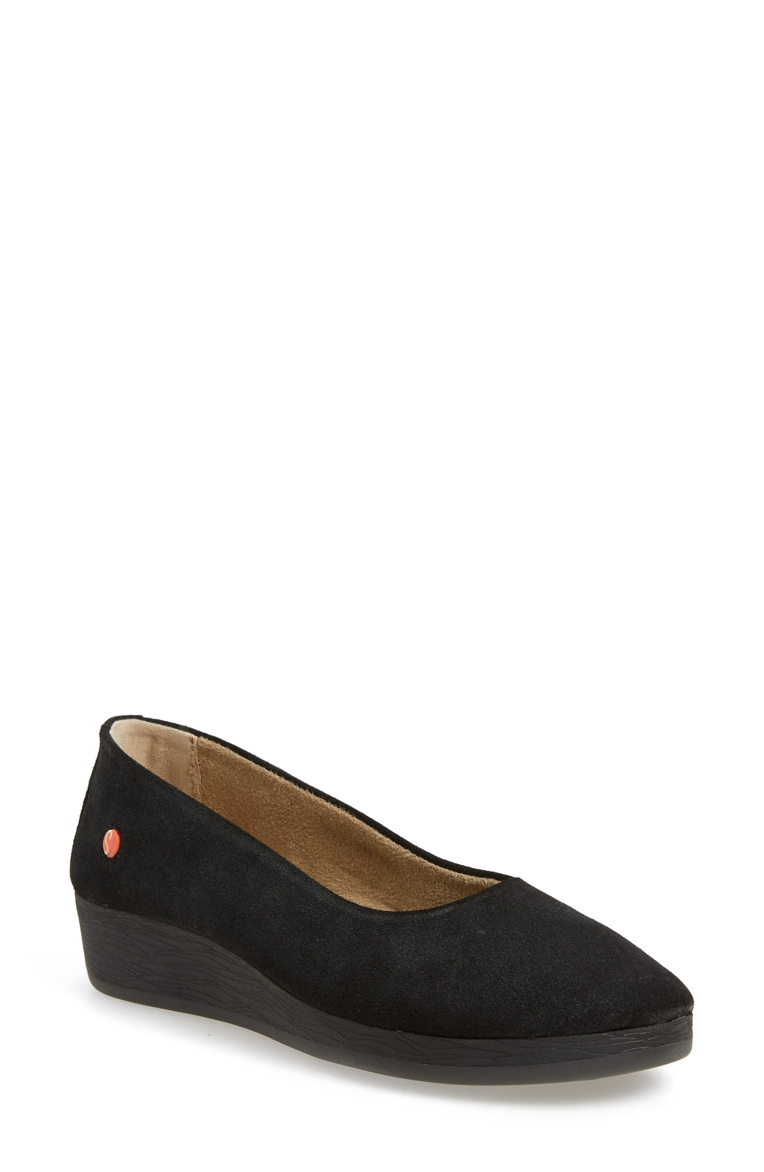 Softinos By Fly London Asa Soft Flat - Grey