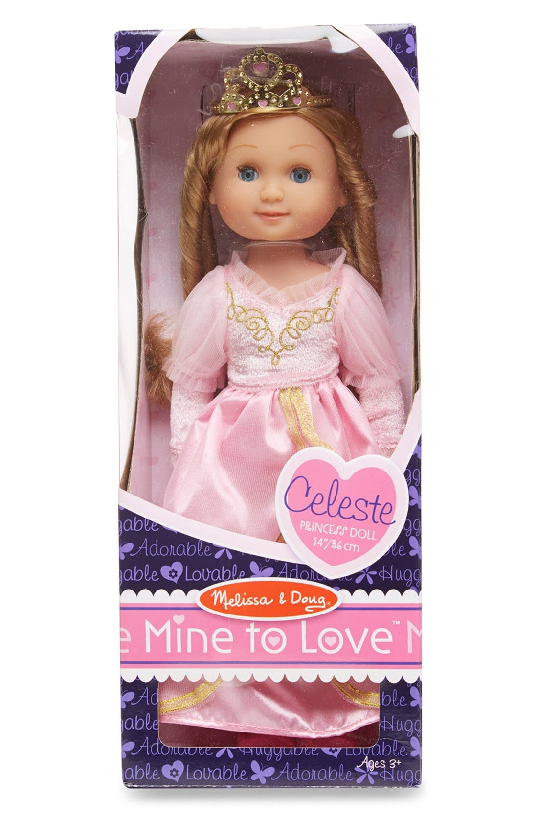 ,                             'Mine to Love - Celeste' Princess Doll,                             Alternate thumbnail 2, color,                             PINK