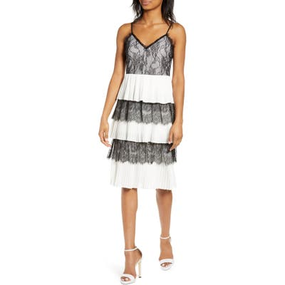 Endless Rose Tiered Lace Dress, White