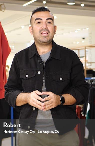 Randie Regular Fit Jacquard V-Neck Sweater, sales video thumbnail