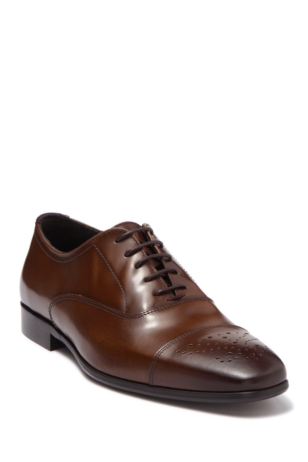 Image of Bruno Magli Cole Cap Toe Leather Oxford