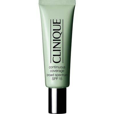 Clinique Continuous Coverage Makeup Broad Spectrum Spf 15 -