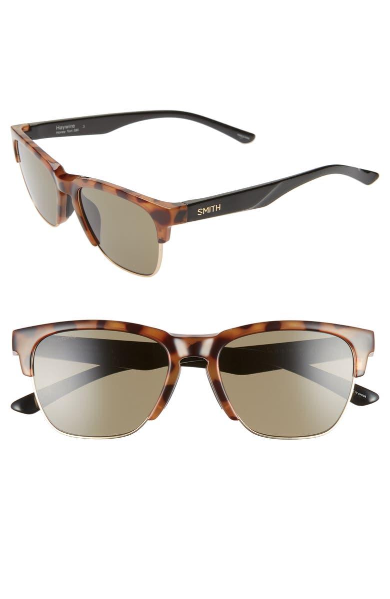 SMITH Haywire 55mm ChromaPop<sup>™</sup> Sunglasses, Main, color, 200