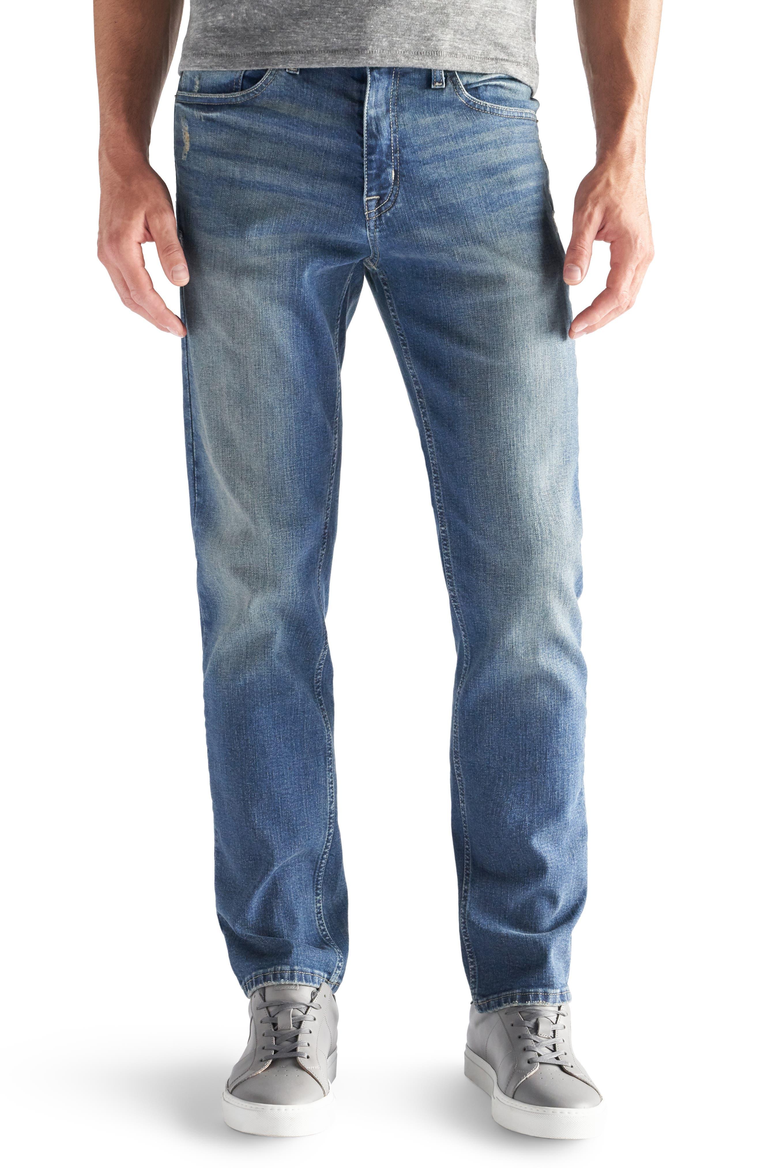 "DEVIL-DOG DUNGAREES Slim Straight Fit Jeans - 30-34"" Inseam"