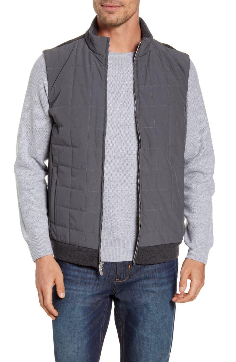 PETER MILLAR Crown Elite Light Hybrid Vest, Main, color, 025