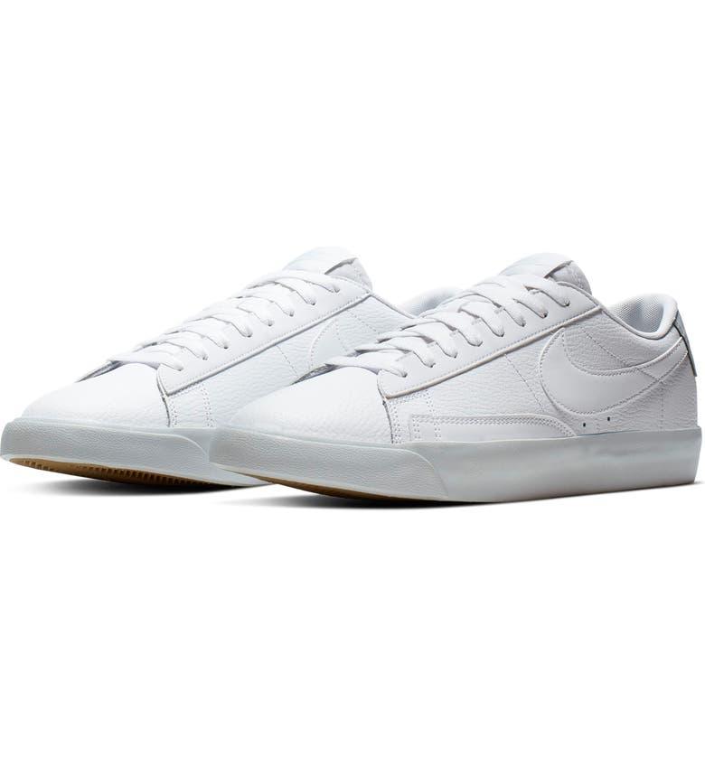 NIKE Blazer Low LX Sneaker, Main, color, WHITE