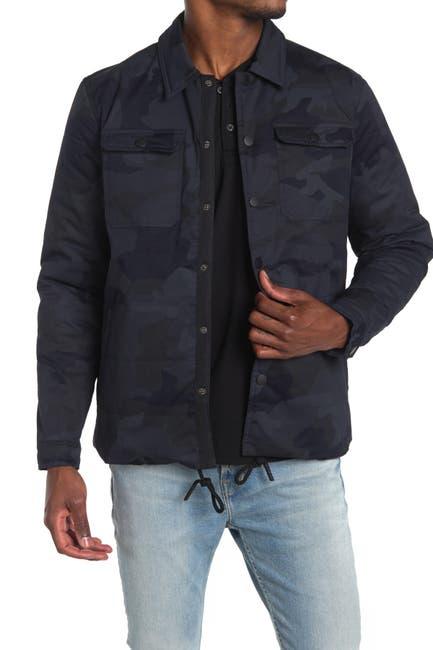 Image of Sovereign Code Dredd Camo Snap Button Jacket