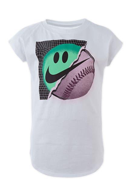 Image of Nike Short Sleeve Baseball Logo Graphic T-Shirt