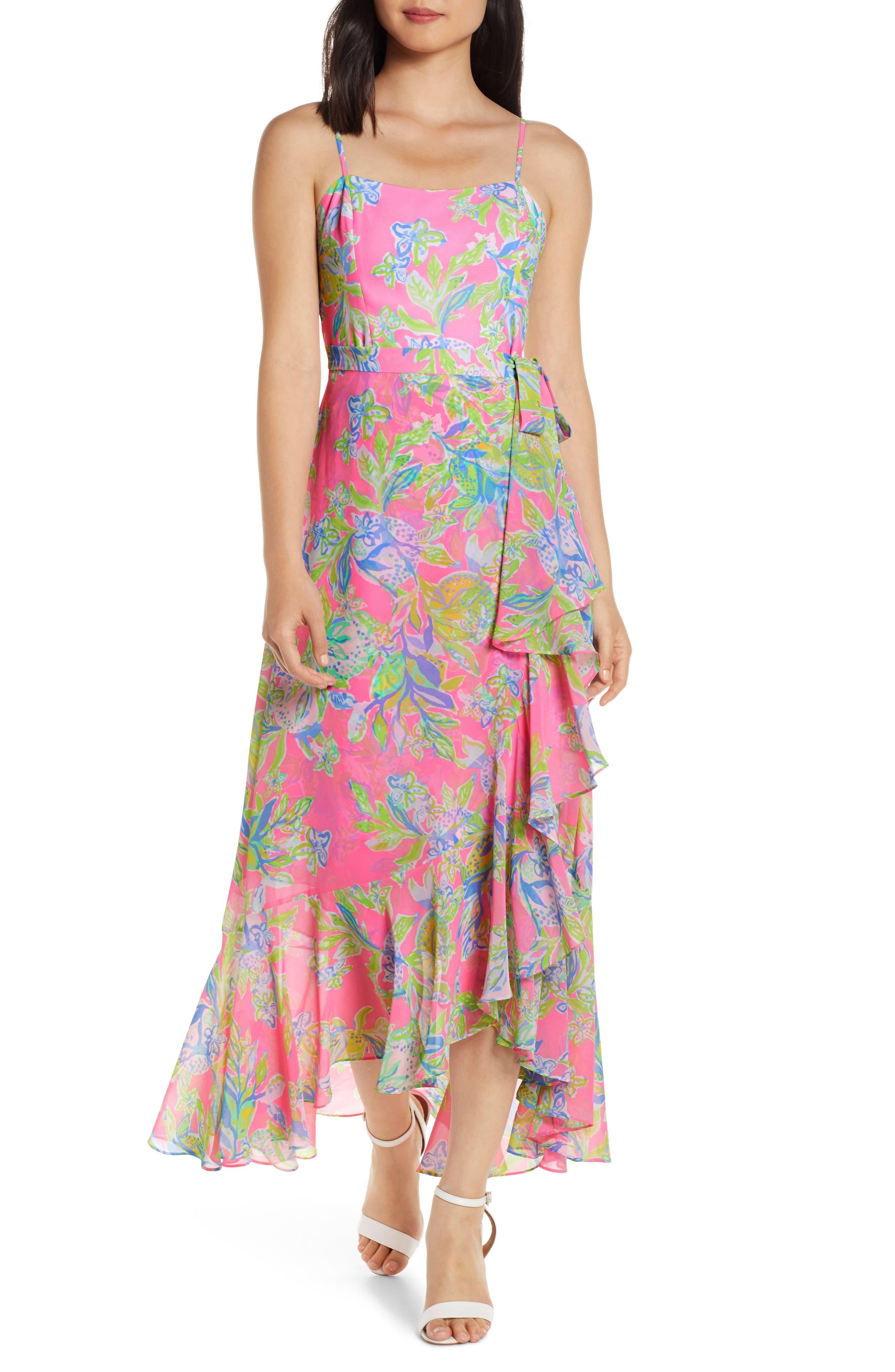 Lilly Pulitzer Anni Sleeveless Maxi Dress, Pink