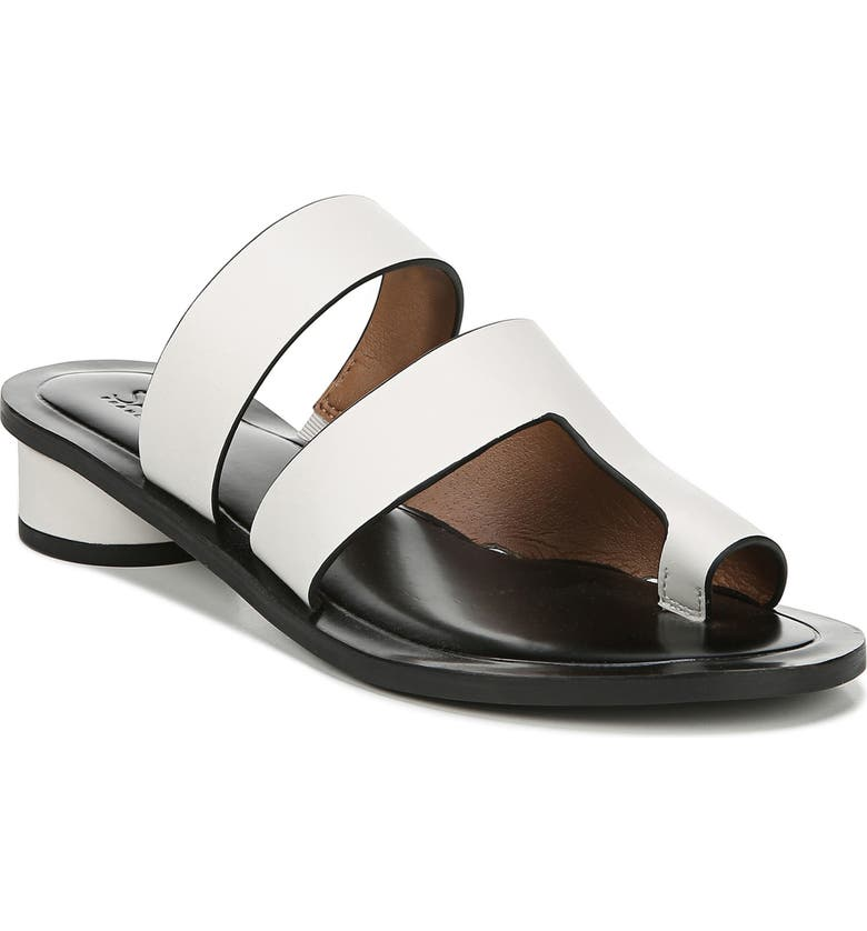SARTO BY FRANCO SARTO Trixie Slide Sandal, Main, color, PUTTY LEATHER