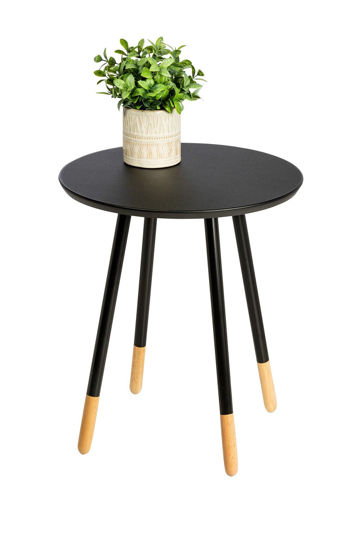 Image of Honey-Can-Do Round End Table