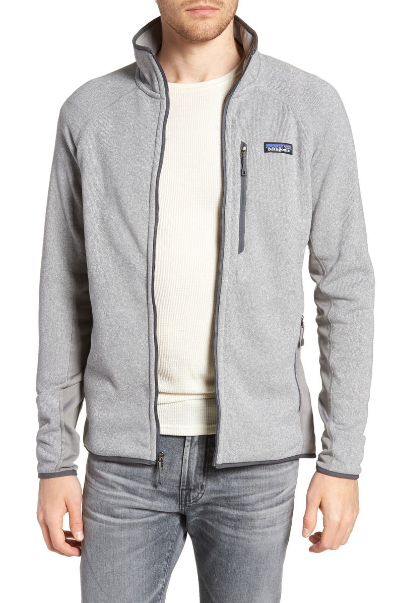 where can i buy detailed pictures outlet online Patagonia Better Sweater® Performance Slim Fit Zip Jacket | Nordstrom