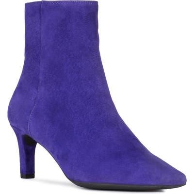 Geox Bibbiana Pointy Toe Bootie, Purple