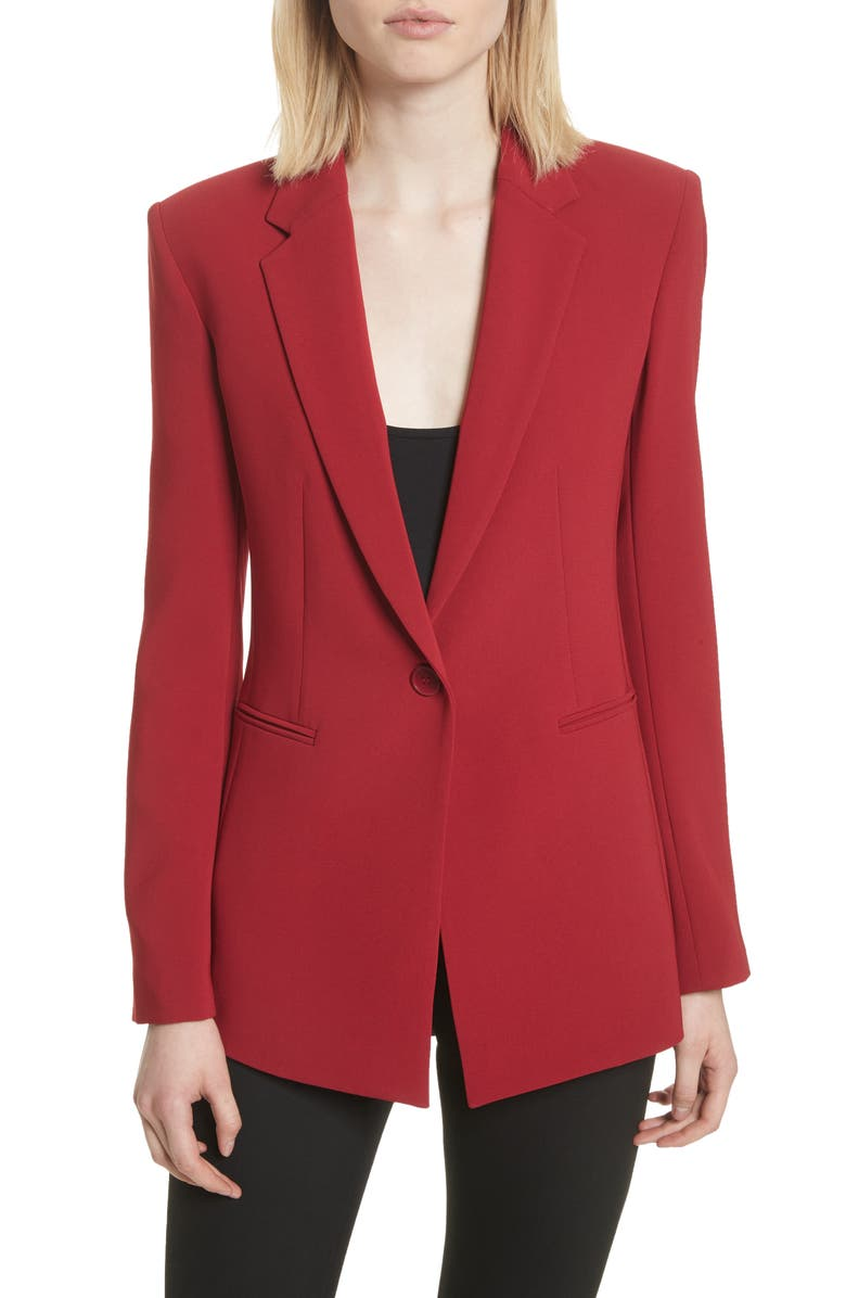 f863b5d36545c Theory Admiral Crepe Power Jacket | Nordstrom