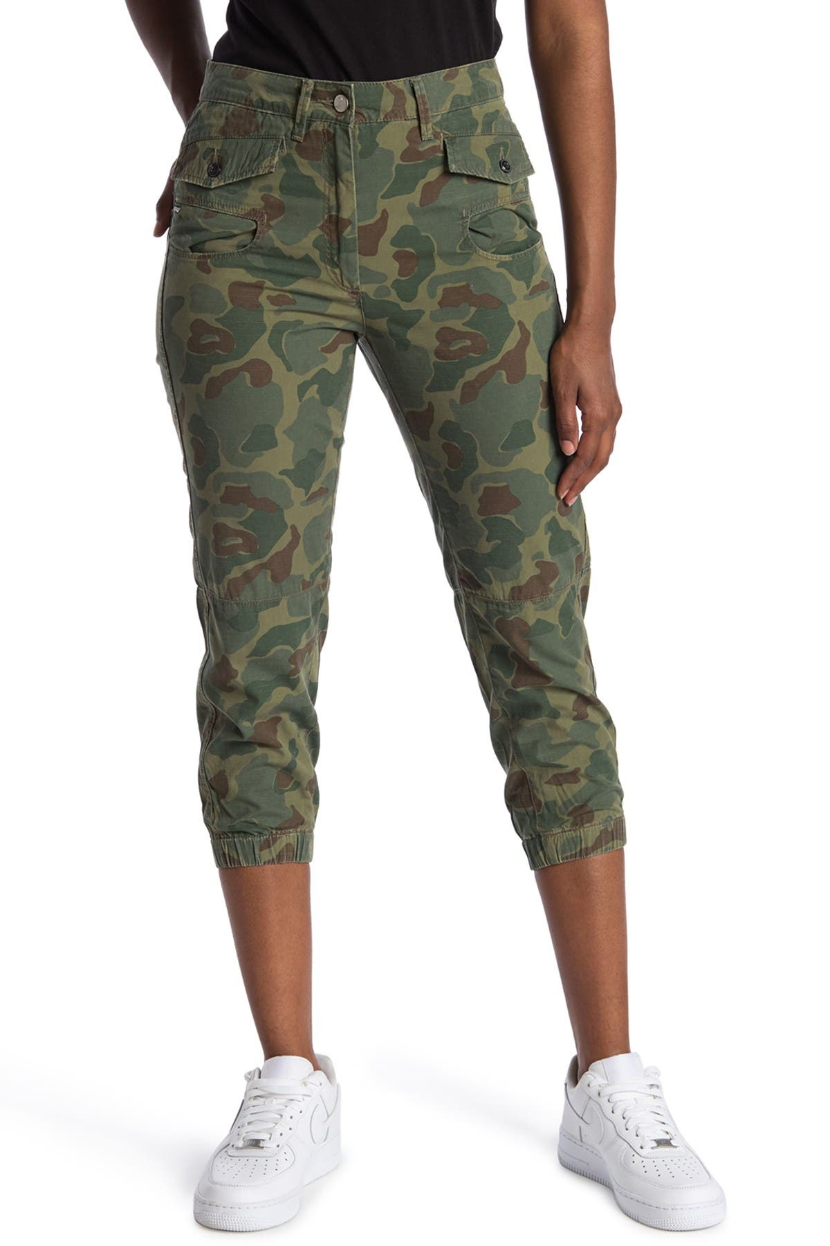 Image of G-STAR RAW Army Camo Cropped Pants
