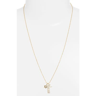Ef Collection Diamond Dream Charm Necklace