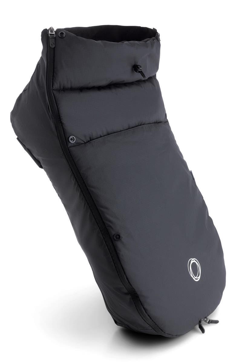 BUGABOO Ant Stroller Waterproof Footmuff, Main, color, BLACK