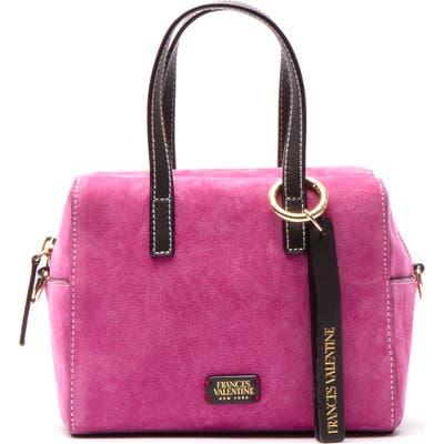 Frances Valentine Leather Satchel - Pink