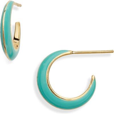 Argento Vivo Montauk Enamel Hoop Earrings