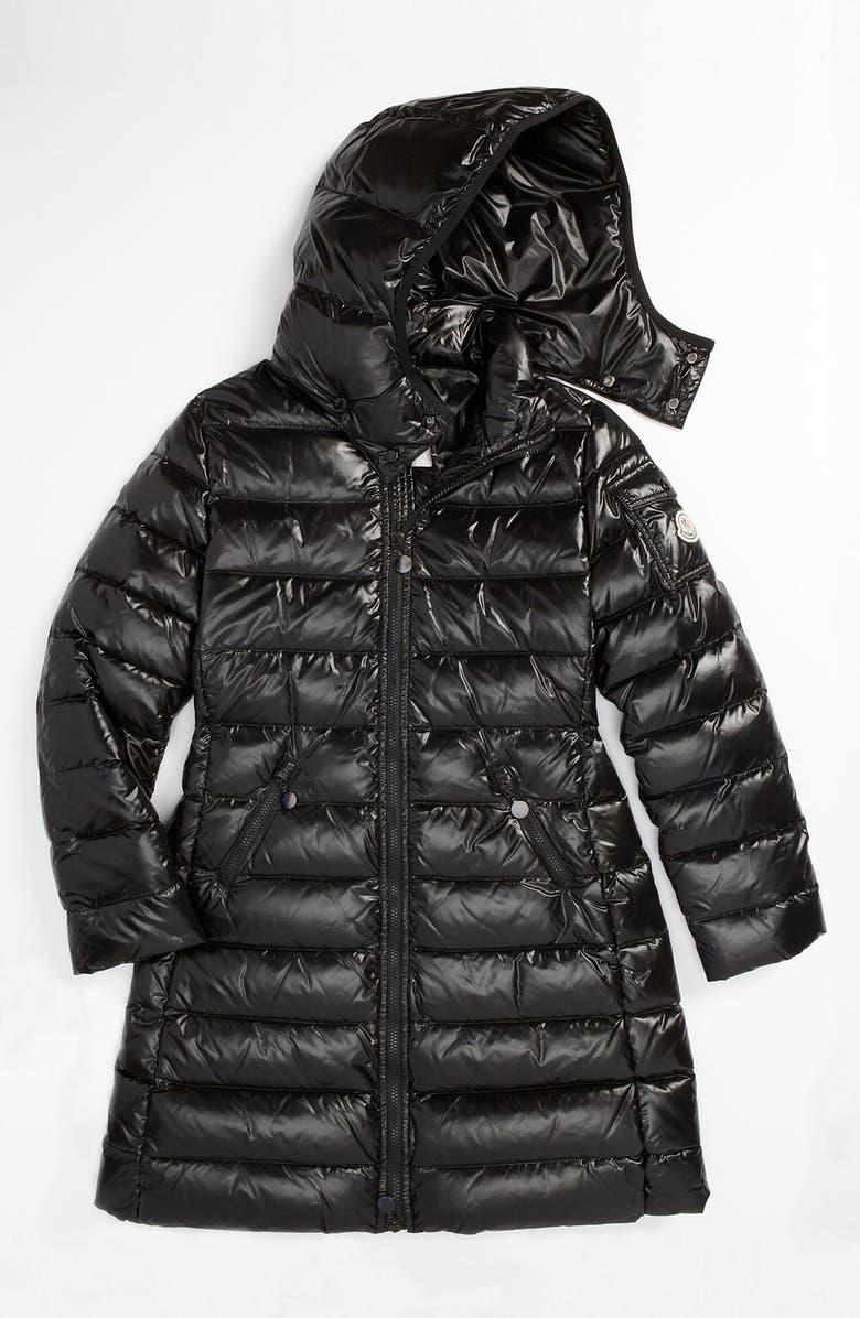 ffd78f91c47050 Moncler 'Moka' Shiny Puffer Jacket (Little Girls) | Nordstrom