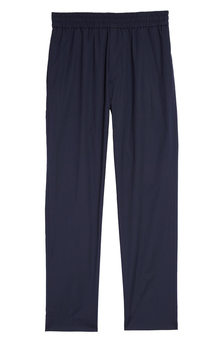 ACNE STUDIOS Ryder L Washed Cotton Trousers, Main, color, DARK BLUE