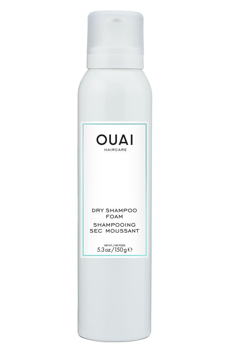OUAI Dry Shampoo Foam, Main, color, NO COLOR