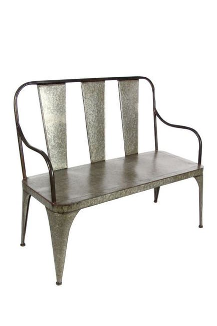 Image of Willow Row Metal Bench