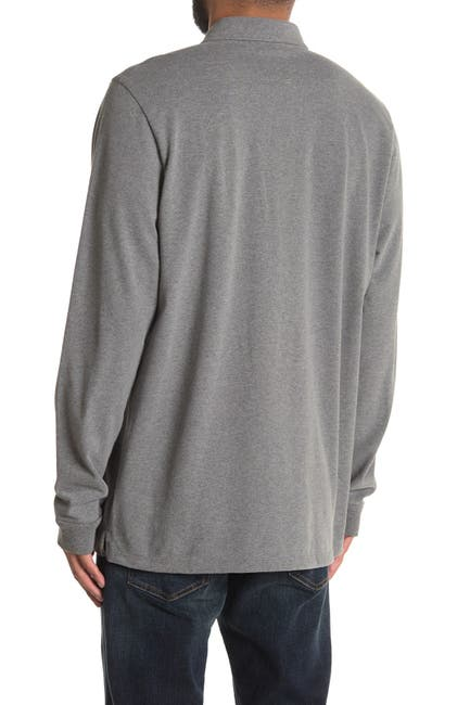 Image of Marine Layer Chest Pocket Long Sleeve Polo