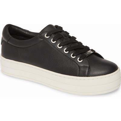 Jslides Hippie Platform Sneaker, Black