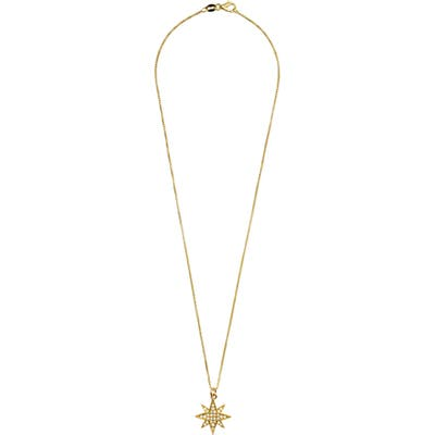 Karen London Selene Burst Pendant Necklace