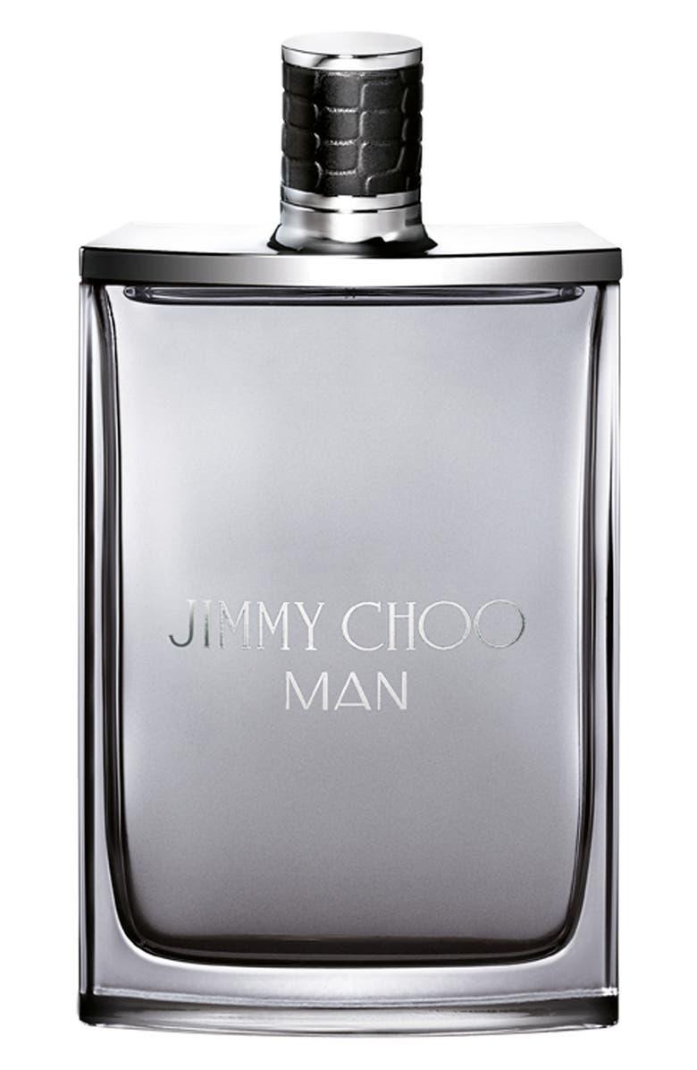 JIMMY CHOO MAN Jumbo Eau de Toilette Spray, Main, color, NO COLOR