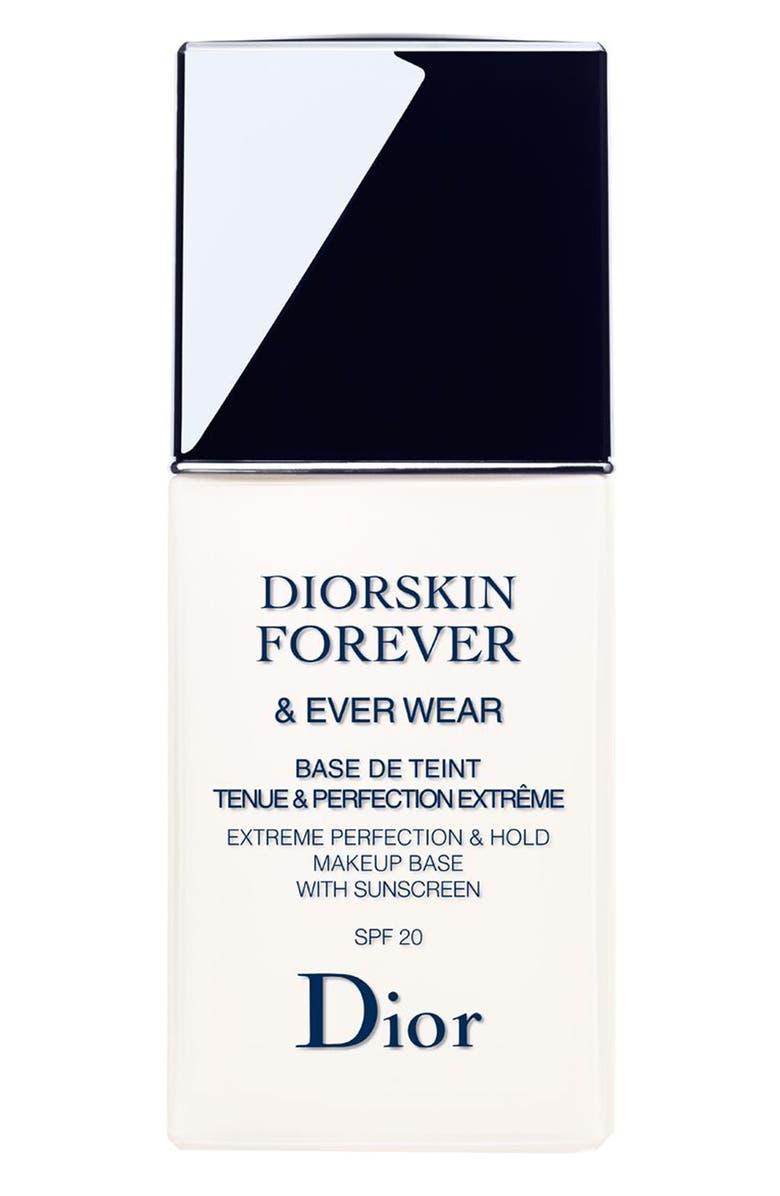 DIOR Diorskin Forever & Ever Wear Makeup Primer SPF 20, Main, color, 000