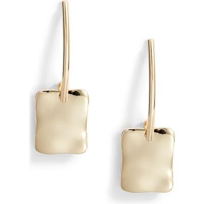 Halogen Molten Linear Earrings