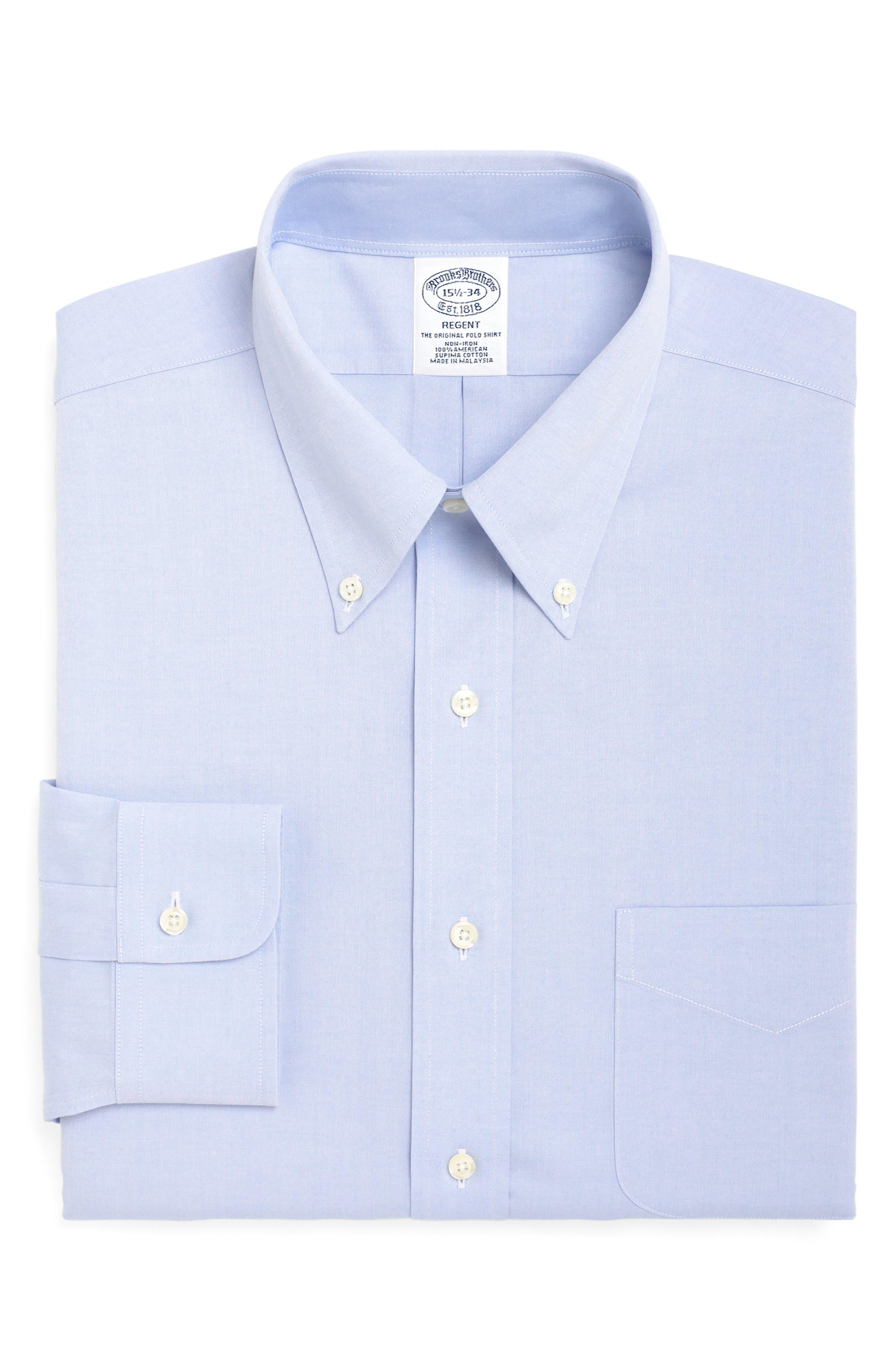 Brooks Brothers Regent Regular Fit Solid Dress Shirt (3 For $207)