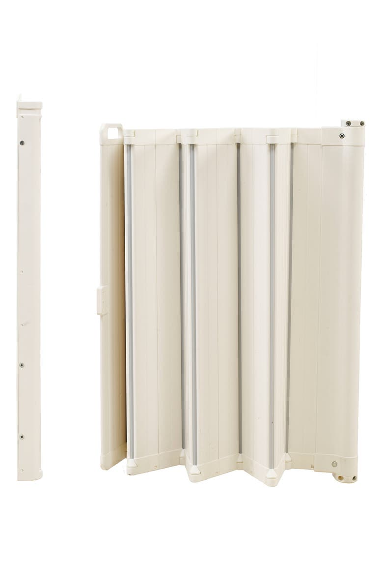 BABYDAN Guard Me Retractable Safety Gate, Main, color, WHITE