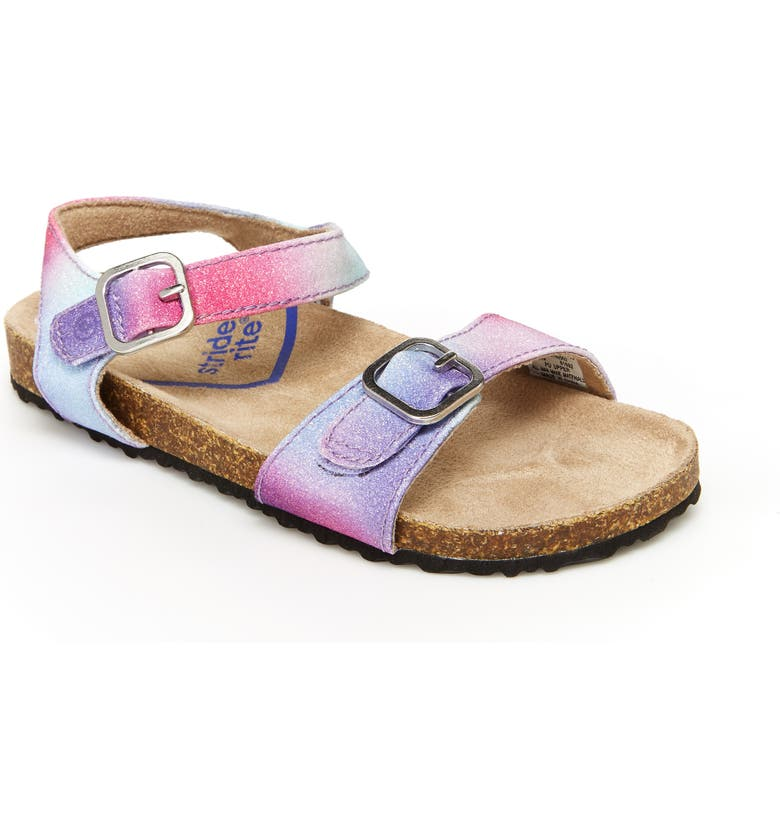 STRIDE RITE Zuly Sandal, Main, color, PINK MULTI