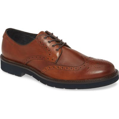 Johnston & Murphy Kinley Wingtip, Brown