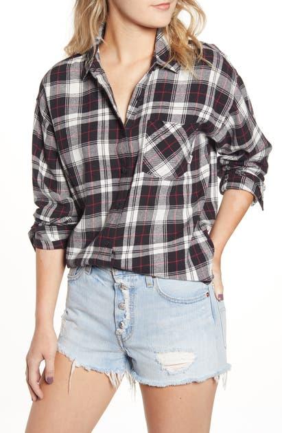 30401c3568 Brimms Flannel Shirt in Black