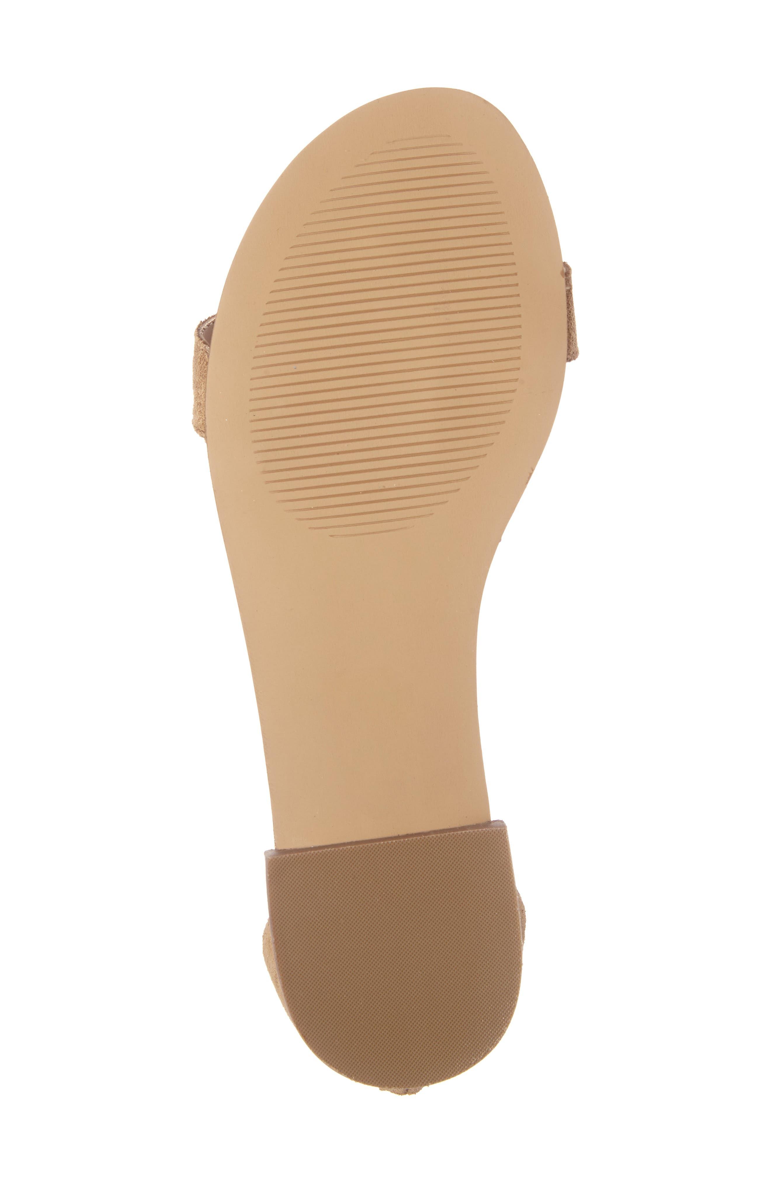 ,                             Koa Fringed T-Strap Sandal,                             Alternate thumbnail 12, color,                             240