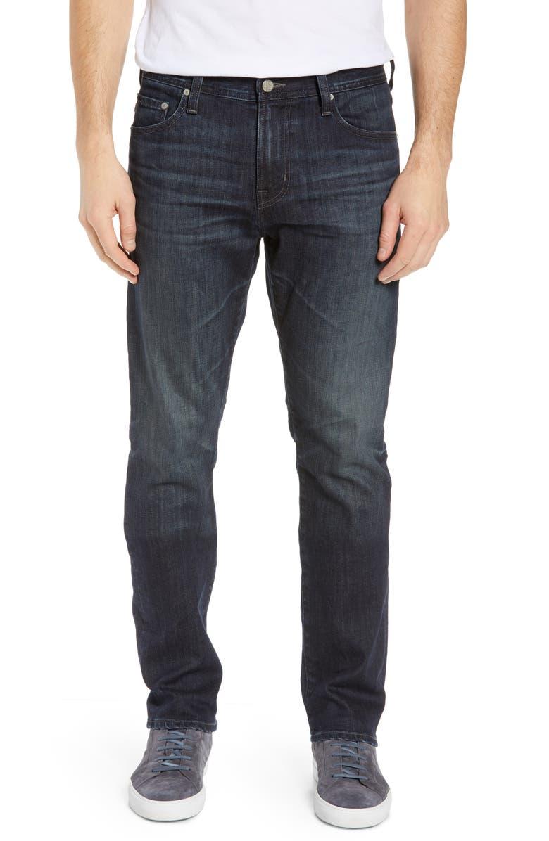 AG Everett Slim Straight Leg Jeans, Main, color, 5 YEARS BLITHE